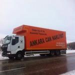Ankara Çubuk Nakliyat Aracımız