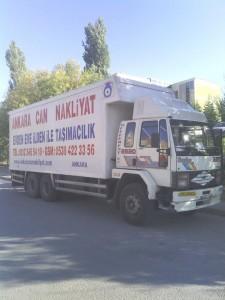 Ankara Can Nakliyuat Aracı