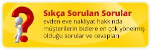 Ankara Evden Eve Sıkça Sorulan Soruları