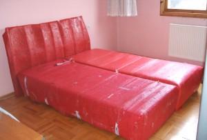 Akdere Can Nakliyat yatak ambalajlaması