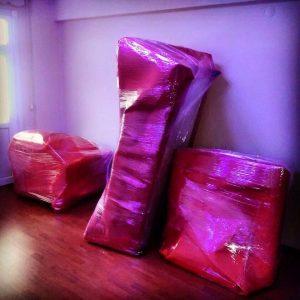 Karapürçek koltuk paketlemesi