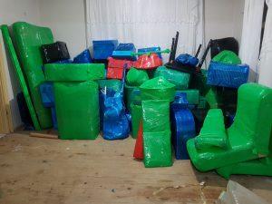 Batıkent Evden Eve Nakliyat eşya paketleme resmi