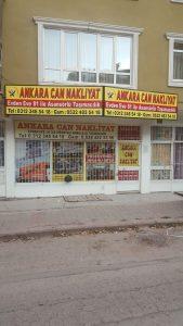 Ankara Can Nakliyat Ofis resmi